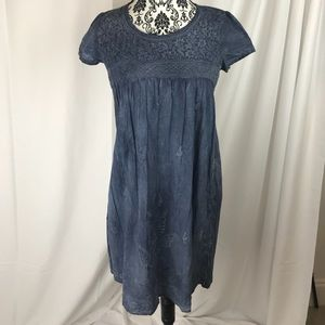 118 $ MAX STUDIO women's dress polo blue seize S